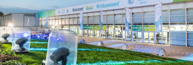 Photo: COP23 Venue. Credit: German Environment Ministry