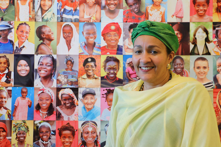 Amina Mohammed, former Special Advisor of the Secretary-General on Post-2015 Development Planning. Credit: AR/Pavithra Rao