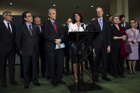Photo: Nikki Haley. Credit: Wikimedia Commons