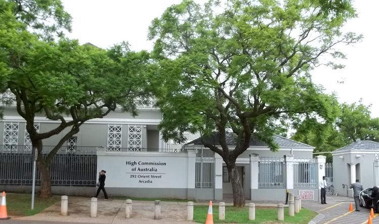 Photo: Australian High Commission in Pretoria. CC BY 3.0