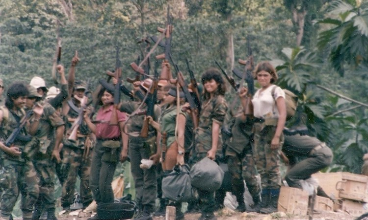 Photo: Nicaraguan Contra Rebels who were among the various U.S.-backed and funded right-wing rebel groups that were active from 1979 to the early 1990s in opposition to the socialist Sandinista Junta of National Reconstruction government in Nicaragua. CC BY-SA 3.0
