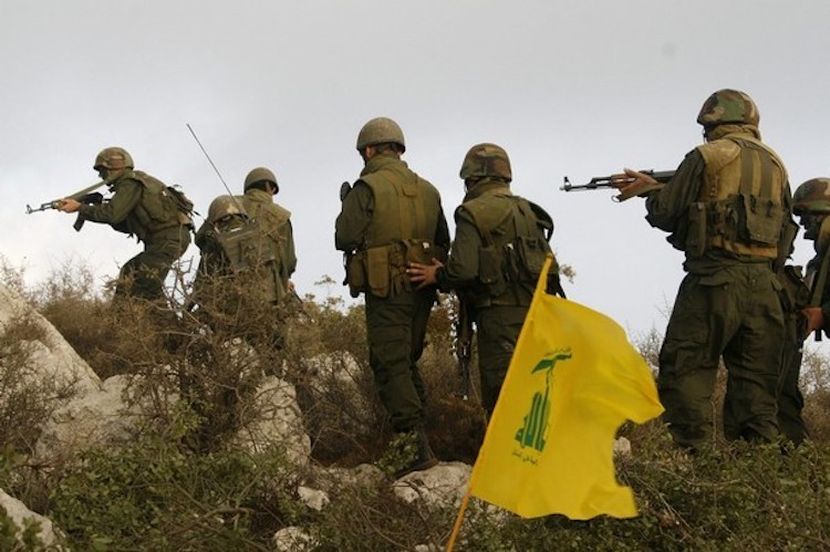 Photo: Hezbollah Patrol in Syria. Credit: Aberfoyle International Security (AIS)-