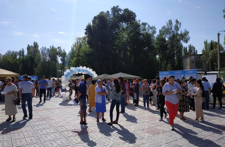 Photo: Job Fair. Credit: Milena Melnikova | INPS-IDN.