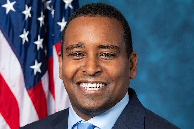 Photo: Official portrait of Joe Neguse, Democratic Party member of the 116th Congress from Colorado. Source: Wikimedia Commons.