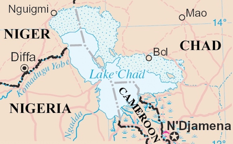 Lake Chad Map Of Africa Conference Comes to the Aid of Drought Stricken, Boko Haram