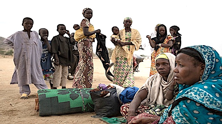 Photo: Nigerian refugees. Credit: CameroonConcordNews
