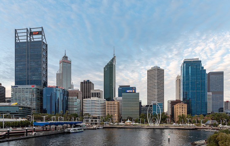 Photo: The tourist sector in Perth, the Australian city closest to Asia with a travel time of between 3 to 4 hours, is also affected by the impact of coronavirus. Credit: Dietmar Rabich. CC BY-SA 4.0