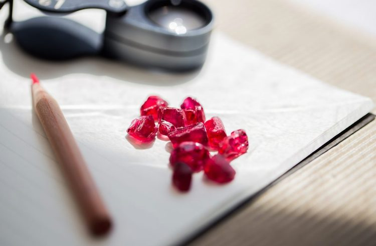 Photo: Gemfields announced record results of the most recent auction of Mozambican rough rubies held in Singapore from June 5-9, 2018.