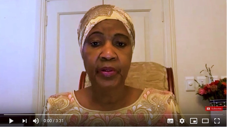 Photo: Screenshot of with statement by Phumzile Mlambo-Ngcuka, Executive Director of UN Women. The video was posted on 8 April 2020.