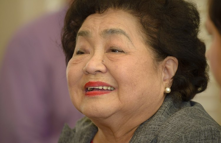 Photo: Setsuko Thurlow, Source: Wikimedia Commons.