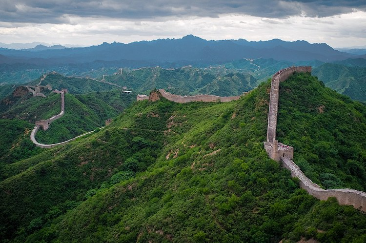 Image: The Great Wall of China at Jinshanling. CC BY-SA 3.0