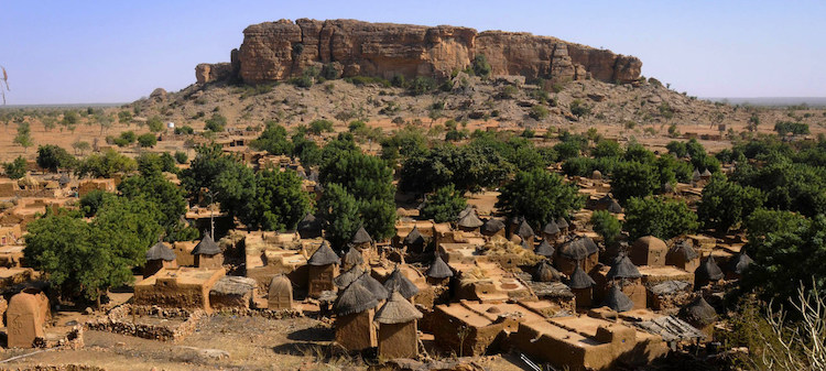 Photo: A traditional Dogon village in central Mali. MINUSMA/Sophie Ravier