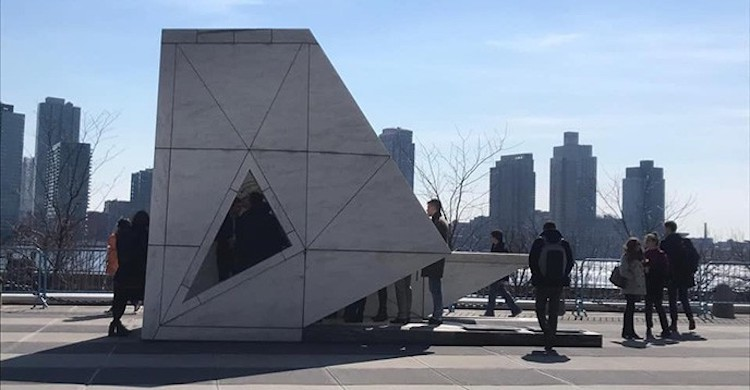 Photo: Permanent Memorial to honour the victims of slavery and the transatlantic slave trade at the United Nations. The Ark of Return was unveiled on 25 March 2015 in New York.