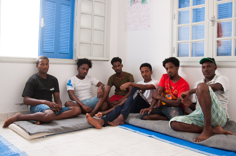 Photo: Eritrean asylum seekers in Tunisia, in search of a better life ©MorganeWirtz