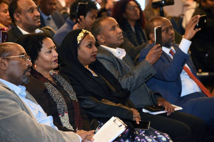 Photo: A glimpse of Brussels conference participants. Credit: Eritrea Press