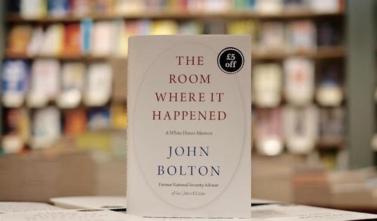 Image: Cover of Bolton's book. Credit: The writer