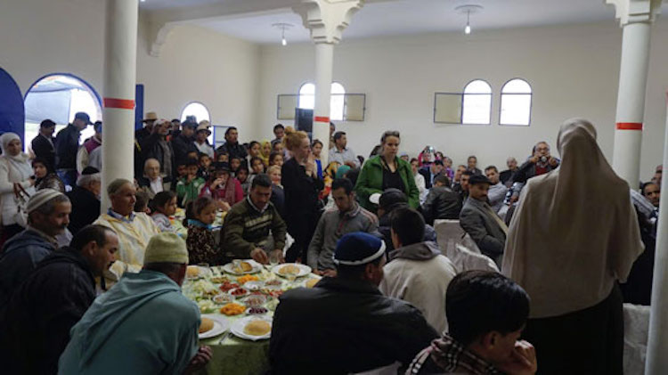 Photo: A community meeting. Credit: High Atlas Foundation