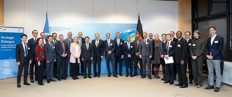 Photo: Germany and UNIDO reinforce partnership through strategic talks. Credit: UNIDO.
