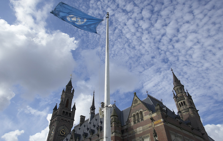 Photo: The Peace Palace in The Hague (Netherlands), seat of the International Court of Justice. Credit: Jeroen Bouman - Courtesy of the ICJ.