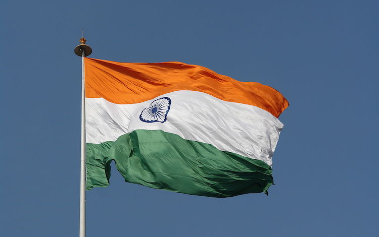 Image: The wheel in the centre of the white in the Indian national flag represents the dynamism of a peaceful change. But certainly not dynamic departure from democracy and diversity that appears to be in the offing. © Yann Forget / Wikimedia Commons. CC BY-SA 4.0