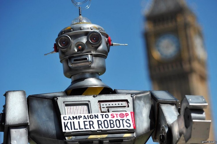 Photo: Killer robot. Credit: ploughshares.ca