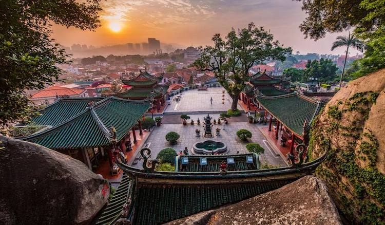 Photo: Kulangsu, a Historic International Settlement World Heritage site (China). © Cultural Heritage Conservation Center of THAD / Qian Yi