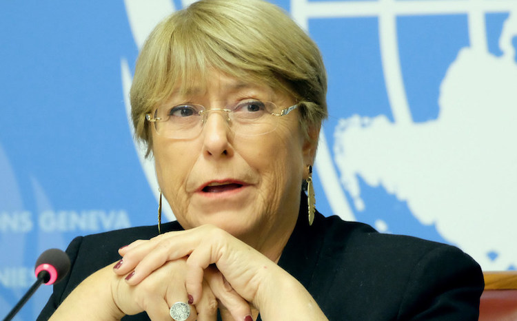 Photo: UN High Commissioner for Human Rights Michelle Bachelet. (file) Credit: UN News/Daniel Johnson