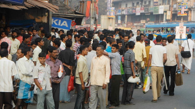 Photo: Migrant workers in Kerala. Courtesy of firstpost.com