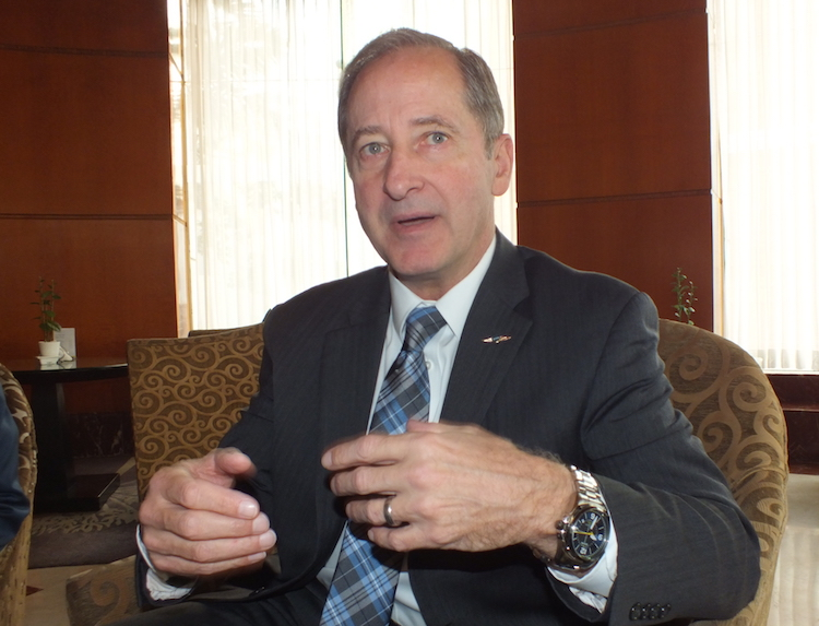 Photo: John Bob Ranck, Chief Executive Officer and President at Orbis International. Credit: Naimul Haq | IDN-INPS