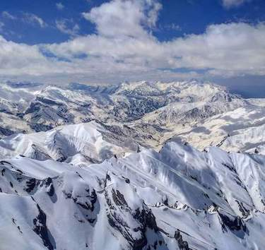 Photo: Pamir mountains. Credit: Alijon  Boynazarov