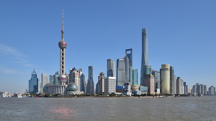 Photo: Skyline of Lujiazui, Pudong New Area, Shanghai (2016). Xi Jinping has specified the goal of achieving – between 2020 and 2035 – the condition of xiaokang shehui, of a moderately prosperous society, without poor. CC BY-SA 2.5