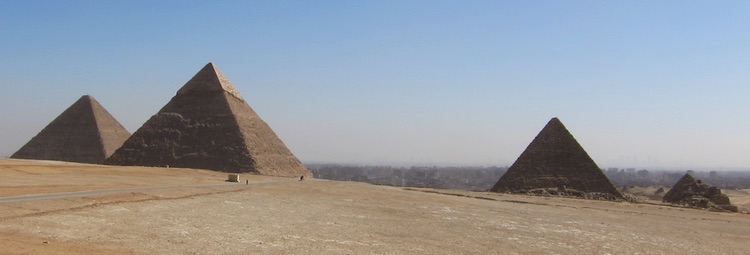 Photo: Pyramids are the backbone of Egyptian tourism. Credit: IFPRI.