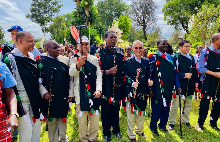 Photo: The Government of Kenya, the UN and development partners receive a warm reception in West Pokot on 26 February 2020. Credit: UN