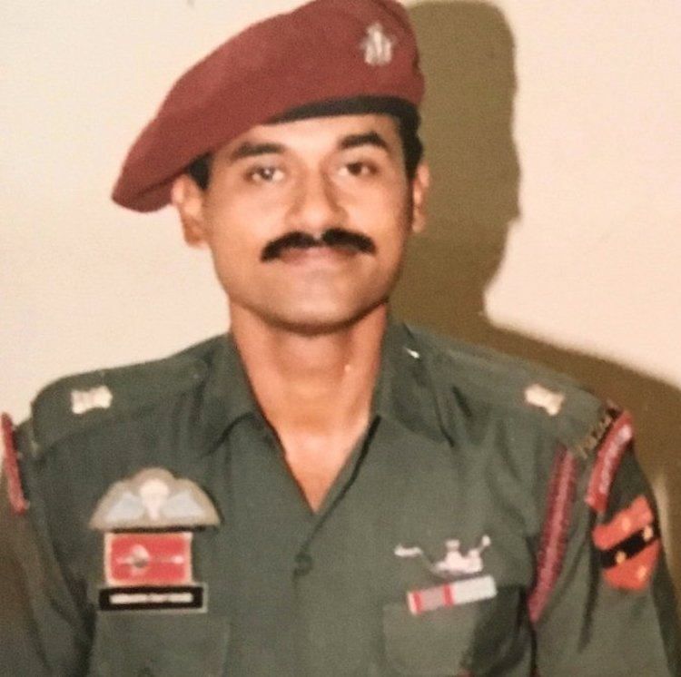 Siddharth Chatterjee was an Indian Army Special Forces Officer