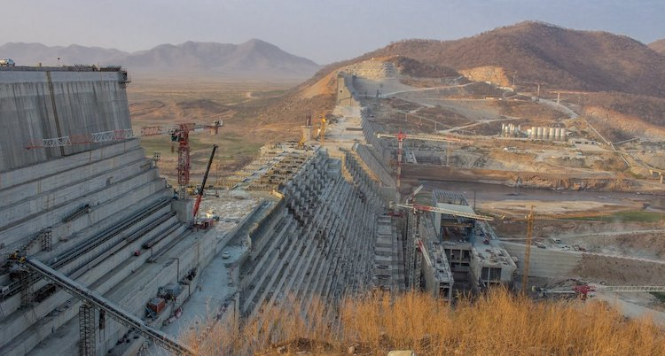 Photo: The Grand Ethiopian Renaissance Dam. Credit: Olof von Gawinski, Flickr.