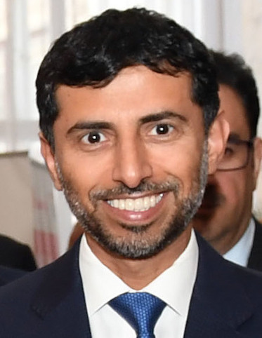 Suhail bin Mohammed Faraj Faris Al Mazrouei, Minister of Energy and Industry CC BY 2.0