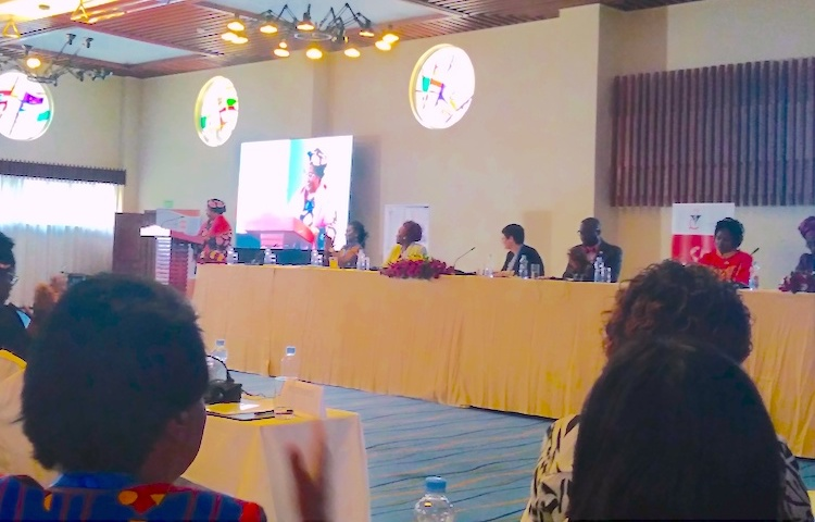 Photo: Joyce Banda, former President of Malawi, addressing the conference. Credit: Justus Wanzala | IDN-INPS