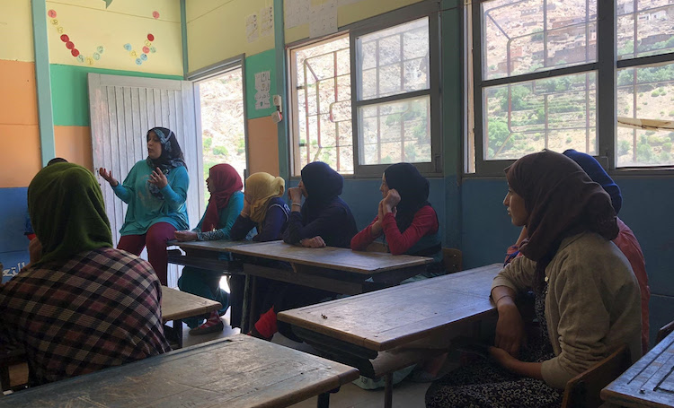 Photo: Women empowerment training. Credit: High Atlas Foundation.